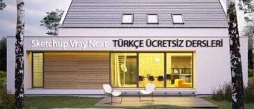 Sketchup Vray Next Türkçe Eğitim Serisi