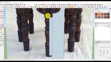 Sketchup Organik Masa Modelleme