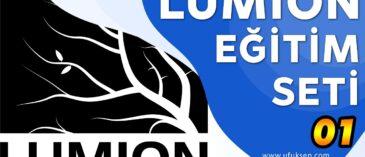 Lumion Geniş İçerikli Eğitim Seti