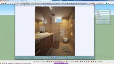 Sketchup Vray Banyo Modelleme Eğitim Serisi