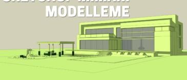 Sketchup Kat Modelleme - Baştan Sona Dwg Dosyası ile Kat Modelle