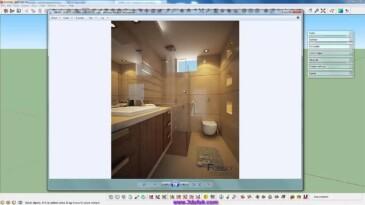 Sketchup Vray Banyo Modelleme Eğitimi